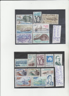 TIMBRES DU (TAFF) NEUF ** /* - (*)   LOT  ANNEES 1956-83 NR 4/14* - 90/101** 79A76 (*)  COTE TOTAL 37,10€ - Terres Australes Et Antarctiques Françaises (TAAF)
