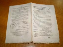 Bulletin Des Lois : Organisation Du Corps Royal D´Etat Major + Ordonnances . Charles Roi De France.... - Historische Dokumente