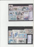 TIMBRES DU (TAFF) NEUF ** LUXE   LOT  ANNEES -1983-86 NR 103 A 124 18 VALEURS    COTE TOTAL 27,20€ - Terres Australes Et Antarctiques Françaises (TAAF)