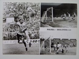 Poland Holland  4:1 Polish National Football Team European Championship Qualifiers 1975 - Fútbol
