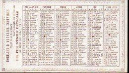 Calendrier 1923 LES FILS D'EMILE DEYROLLE (PPP2316) - Calendriers