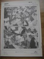 GRAND PHOTO VUE AERIENNE 66 Cm X 48 Cm De 1979 HERON HERON - Cartes Topographiques