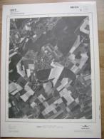 GRAND PHOTO VUE AERIENNE 66 Cm X 48 Cm De 1979  HUY BEN AHIN - Cartes Topographiques