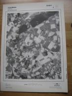 GRAND PHOTO VUE AERIENNE 66 Cm X 48 Cm De 1979 TOURNAI MAULDE - Cartes Topographiques