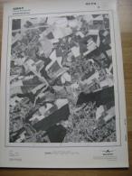 GRAND PHOTO VUE AERIENNE 66 Cm X 48 Cm De 1979  AMAY JEHAY BODEGNEE - Cartes Topographiques