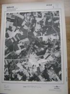 GRAND PHOTO VUE AERIENNE 66 Cm X 48 Cm De 1979 BERLOZ ROSOUX CRENWICK - Cartes Topographiques