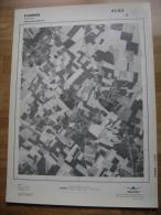 GRAND PHOTO VUE AERIENNE 66 Cm X 48 Cm De 1979  FAIMES FAIMES - Cartes Topographiques