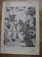 GRAND PHOTO VUE AERIENNE 66 Cm X 48 Cm De 1979  DONCEEL LIMONT - Cartes Topographiques