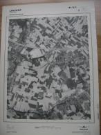 GRAND PHOTO VUE AERIENNE 66 Cm X 48 Cm De 1979  LINCENT LINCENT - Cartes Topographiques
