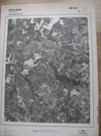 GRAND PHOTO VUE AERIENNE 66 Cm X 48 Cm De 1979 DALHEM MORTROUX - Cartes Topographiques