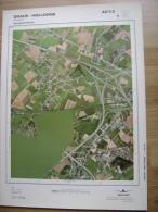 GRAND PHOTO VUE AERIENNE 66 Cm X 48 Cm De 1984 GRACE HOLLOGNE AWANS - Cartes Topographiques