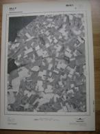 GRAND PHOTO VUE AERIENNE 66 Cm X 48 Cm De 1979 SILLY GRATY - Cartes Topographiques