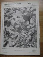 GRAND PHOTO VUE AERIENNE 66 Cm X 48 Cm De 1979  SAINT GEORGES SUR MEUSE - Cartes Topographiques