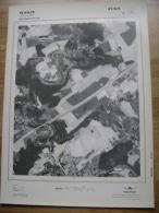 GRAND PHOTO VUE AERIENNE 66 Cm X 48 Cm De 1979  WANZE HUCCORGNE - Cartes Topographiques