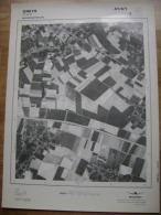GRAND PHOTO VUE AERIENNE 66 Cm X 48 Cm De 1979  OREYE - Cartes Topographiques
