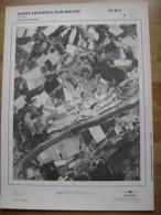 GRAND PHOTO VUE AERIENNE 66 Cm X 48 Cm De 1979  SAINT GEORGES SUR MEUSE STOKAI - Cartes Topographiques