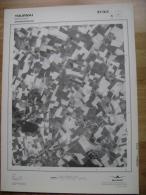 GRAND PHOTO VUE AERIENNE 66 Cm X 48 Cm De 1979 TOURNAI MOURCOURT - Cartes Topographiques