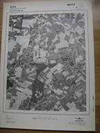 GRAND PHOTO VUE AERIENNE 66 Cm X 48 Cm De 1979  ATH VILLERS SAINT AMAND - Cartes Topographiques