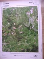 GRAND PHOTO VUE AERIENNE 66 Cm X 48 Cm De 1981 LIMBOURG LIMBOURG - Cartes Topographiques