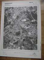 GRAND PHOTO VUE AERIENNE 66 Cm X 48 Cm De 1979 BERNISSART BERNISSART - Cartes Topographiques