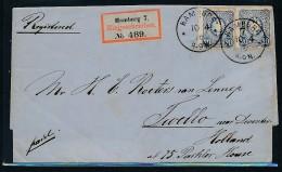 R.-Brief Hamburg Nach Holland   (be2506  ) Siehe Scan - Germania
