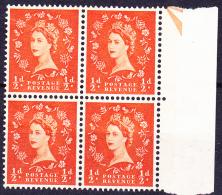 Großbritannien Great Britain Grande-Bretagne - Königin Elizabeth II. (Mi.Nr. 318 YX) 1960 - Postfrisch MNH - Unused Stamps
