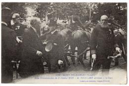 """"""" Mont De Marsan - Fêtes Prés. Du 6/10/1913 - M. POINCARE Arrivant à La Gare """" TRES  RARE ! - Mont De Marsan"""