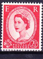 Großbritannien Great Britain Grande-Bretagne - Königin Elizabeth II. (Mi.Nr. 322y) 1958 - Postfrisch MNH - Unused Stamps
