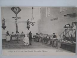 ABBAYE DE ND DE ST JOSEPH. FORGES LEZ CHIMAY . REFECTOIRE - Chimay