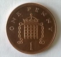 Monnaie - Grande-Bretagne - 1 Penny 1996 - - 1971-… : Monnaies Décimales