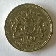 Monnaie - Grande-Bretagne - 1 Pound 1983 - - 1971-…: Dezimalwährungen