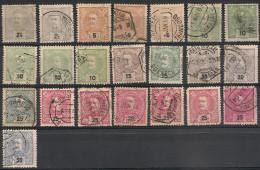 Portugal. 1895. Entre N° 124 Et 132. Oblit. - Portugal