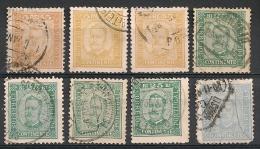 Portugal. 1892. Entre N° 66 Et 71. Oblit. - Portugal