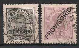 Portugal. 1892.  N° 78, 84. Oblit. - Portugal