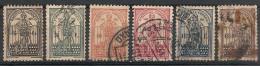 Portugal. 1931.  N° 553-558. Oblit. Le 558 Est Défectueux (non Compté) - Portugal
