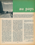 1962 : Document, LE VENTOUX (7 Pages Illustrées)Brantes, La Roque Alric, Col Des Tempêtes, Cavaillon, Colline St Jacques - Sin Clasificación