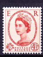 Großbritannien Great Britain Grande-Bretagne - Elizabeth II. (Mi.Nr. 325x) 1958 - Postfrisch MNH - Unused Stamps