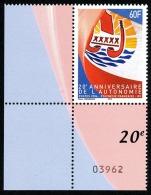 POLYNESIE 2004 - Yv. 722 ** SUP Cdf Num De Feuille  Cote= 6,10 EUR - Autonomie ..Réf.POL22565 - Französisch-Polynesien