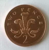 Monnaie - Grande-Bretagne - 2 Pence 1996 - - 1971-… : Monnaies Décimales