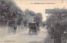 44 - PORNICHET : Avenue De Mazy ( Automobile Décapotable D'époque En 1er Plan ) - CPA - Loire Atlantique - Pornichet