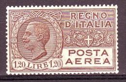 REGNO POSTA AEREA 1926-28 N. 5 1,20  BRUNO NUOVO** 1 VALORE - Poste Aérienne