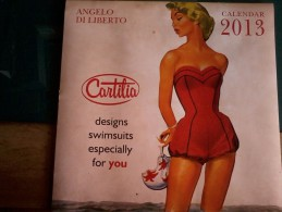 Calendario  Pubblicitario  2013 Di Angelo Di Liberto - Cm. 30x30. - Calendari