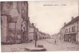 MANTHELAN. -  La Place - France