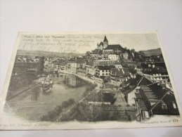 CPA THUN BLICK VOM THUNERHOF 1903 - BE Berne