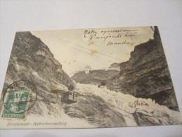 CPA GRINDELWALD WETTERHORNAUFZUG 1910 - BE Berne