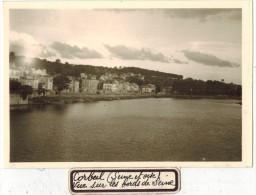 """VIEILLE Et VERITABLE PHOTO Non Dentelée  : """" CORBEIL Seine Et Oise Vue Sur Les Bords De La Seine  """" - Places"""