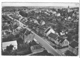 Torteron (18) - Route De Nerondes Et Vue Générale. Moderne Bon état, A Circulé (1962). - Autres Communes