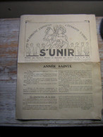 MARS 1936  MENSUEL N° 3  S´UNIR SE CONNAITRE S´APPRECIER S´ENTRAIDER S´AIMER BULLETIN DES SECTIONS RURALES ET AGRICOLES - Journaux - Quotidiens
