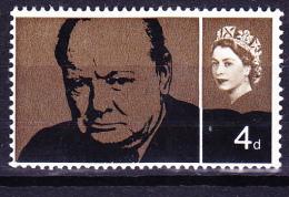 Großbritannien Great Britain Grande-Bretagne - Churchill (Mi.Nr. 384x) 1965 - Postfrisch MNH - Unused Stamps