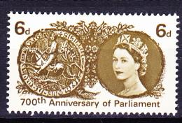 Großbritannien Great Britain Grande-Bretagne - Parlament (Mi.Nr. 386y) 1965 - Postfrisch MNH - 1952-.... (Elizabeth II)